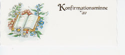 Konfirmationsminne 42084