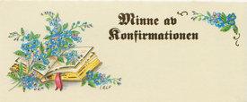 Konfirmationsminne 42098