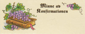 Konfirmationsminne 42101