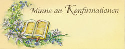Konfirmationsminne 42130