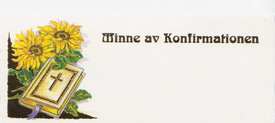 Konfirmationsminne 42133
