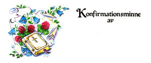 Konfirmationsminne 42087